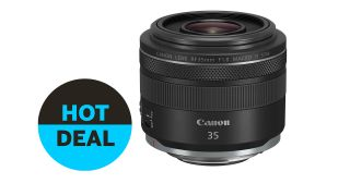 Canon RF 35mm f/1.8 Macro IS STM lens deal