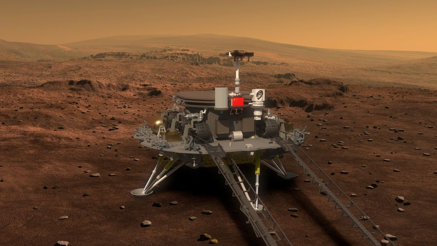 China launches ambitious Tianwen-1 Mars rover mission - Space.com