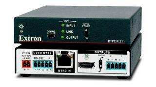 Extron has announced the immediate availability of the DTP2 R 211, a twisted-pair HDMI receiver with advanced performance and innovative features.