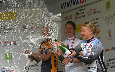 champagne women's podium national championships 2008