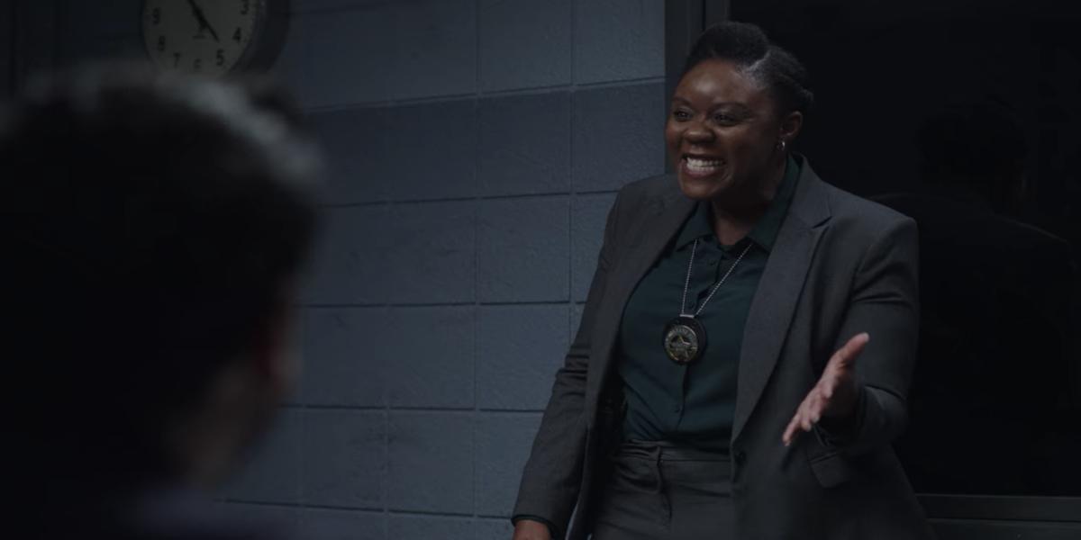 Andrene Ward-Hammond as Detective Martin in The Lovebirds