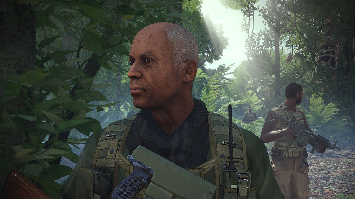The new Arma 3 scenario is about a retired badass who just wants to be left alone