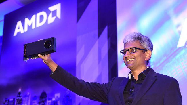 AMD reunites Raja Koduri with his baby: an RX 6800 graphics card