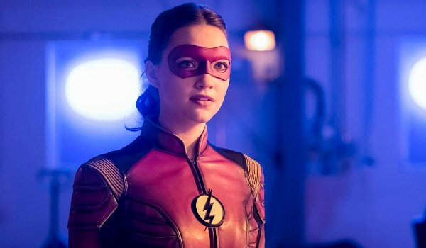 Violett Beane Jesse Quick The Flash The CW