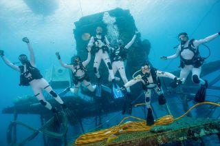 NEEMO 21 crew