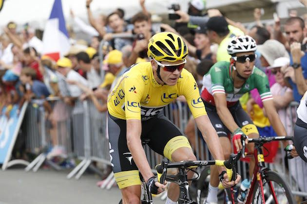 Froome loses yellow jersey as rivals sense weakness on tough finish