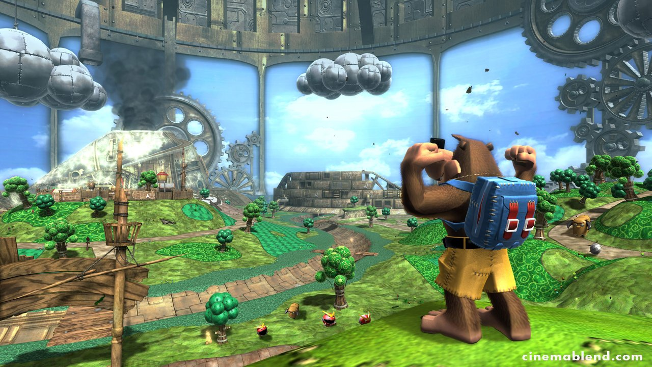 Banjo-Kazooie: Nuts And Bolts - First Details And Screens #1972