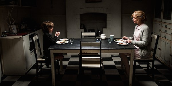 The Babadook people eating at table