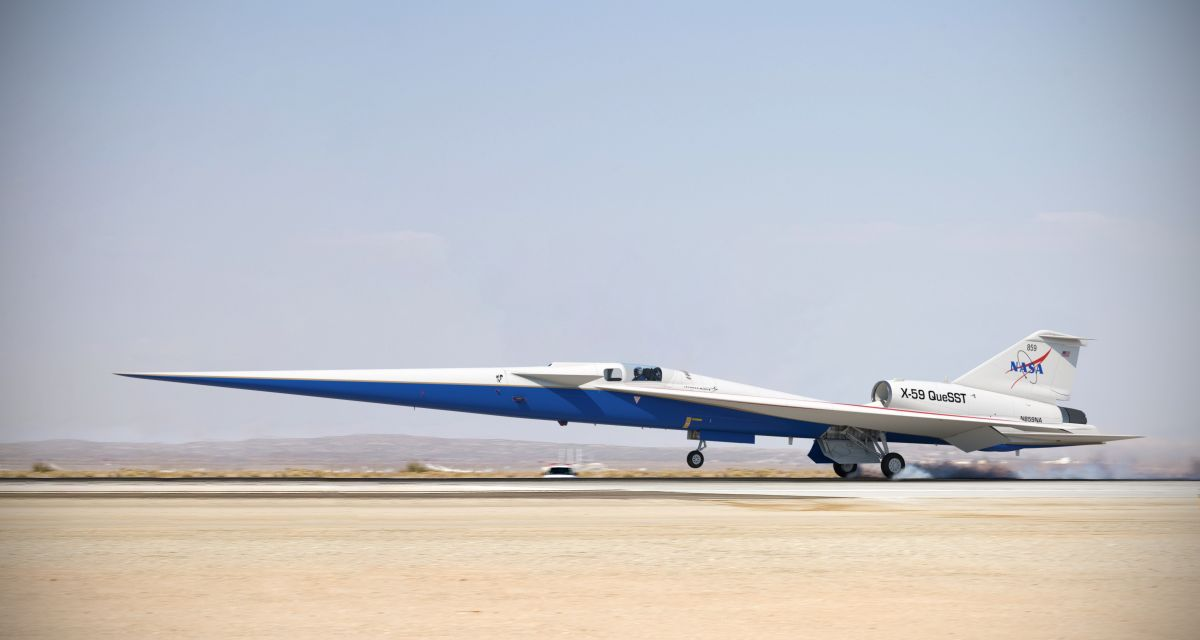 NASA's experimental X-59 supersonic jet could be built by the end of 2020