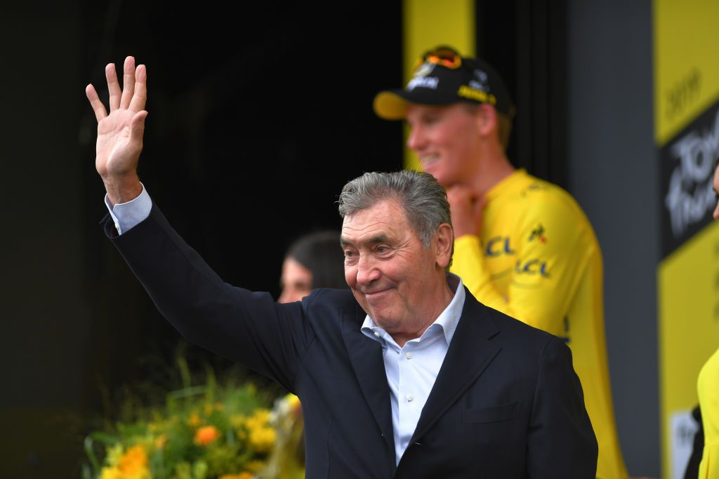 Eddy Merckx in hospital with 'serious head injury' after crash