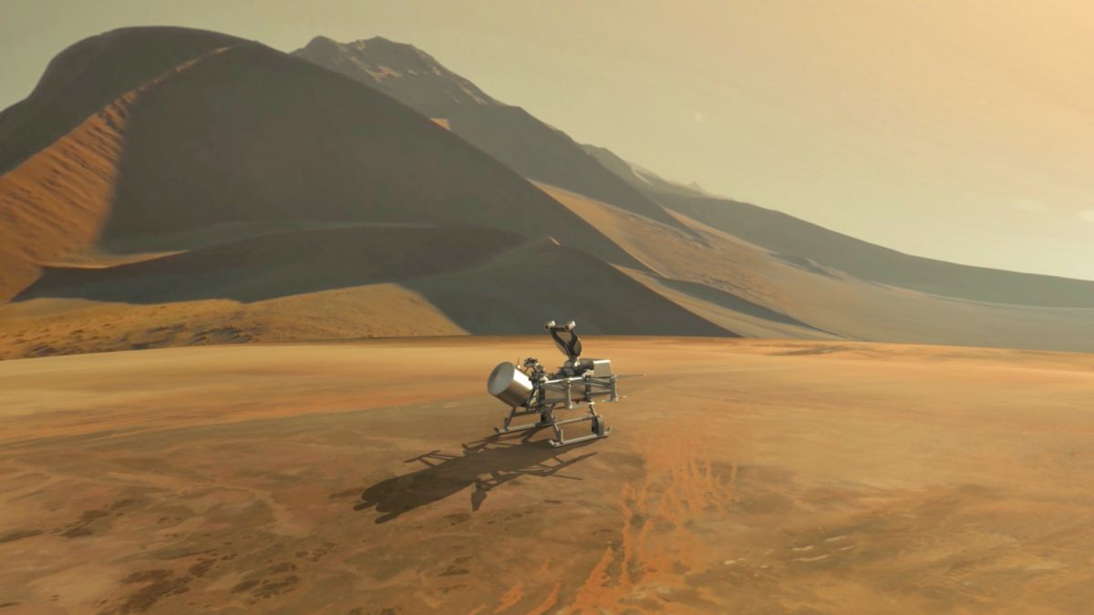 NASA Is Sending a Life-Hunting Drone to Saturn's Huge Moon Titan