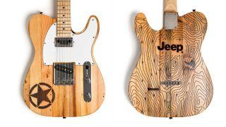 Wallace Detroit Guitars Jeep guitar
