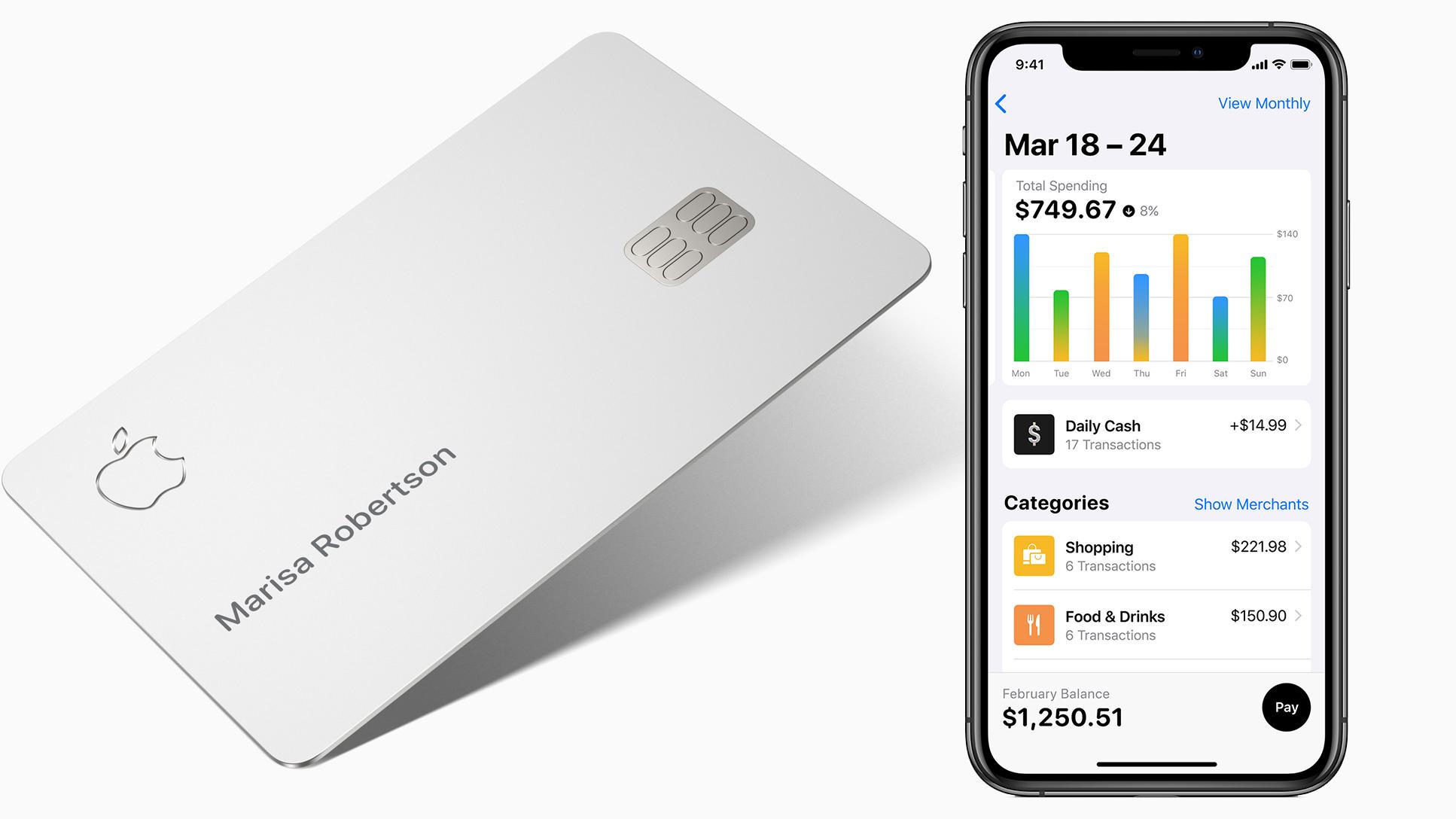نتيجة بحث الصور عن Apple Credit Card