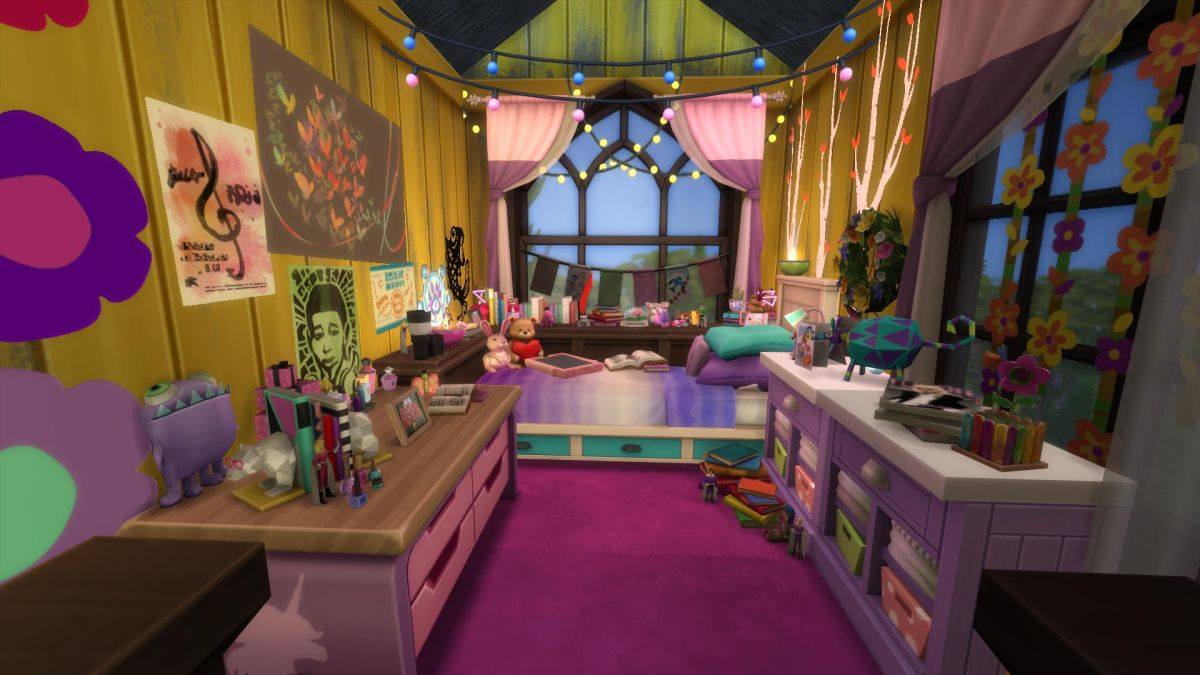 Here's how one YouTuber recreated the What Remains of Edith Finch house in The Sims 4