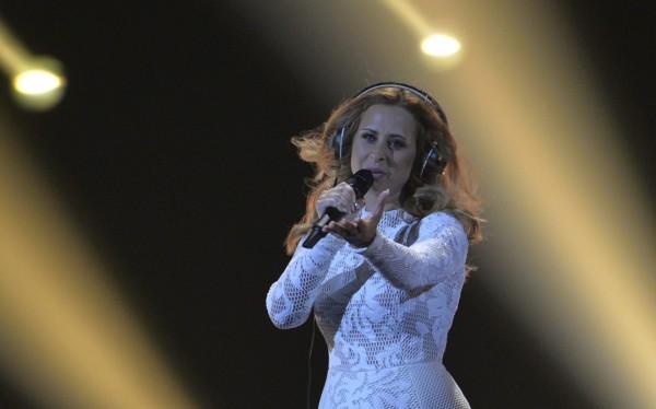 Maraaya representing Slovenia (Kerstin Joensson/AP)
