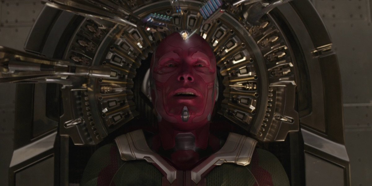 Avengers: Infinity War Test Footage Shows Vision Brutally Kill One Of The Black Order - CINEMABLEND
