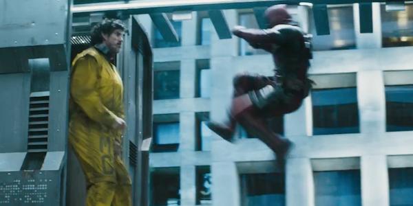 Deadpool fighting