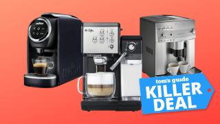 Best cheap coffee machine deals