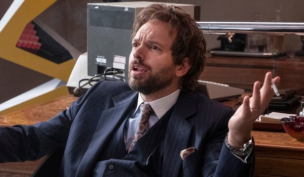 paul scheer's bad wig on showtime's black monday