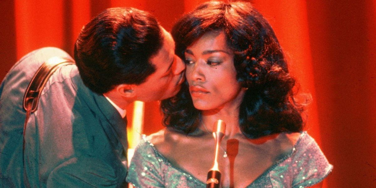 Laurence Fishburne and Angela Bassett in What's Love Got to Do with IT