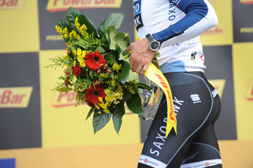 Fabian Cancellara wins prologue, Andy Jones at the Tour de France 2010