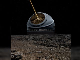 The Thirty Meter Telescope is expected to generate images that are more than 12 times sharper than those from the Hubble Space Telescope.