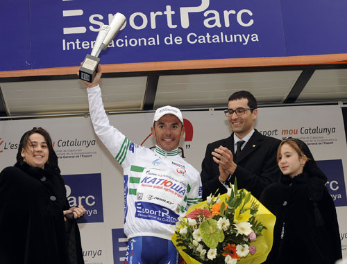 Joaquin Rodriguez leads, Tour of Catalonia 2010, stage four