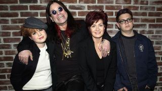 The Osbournes in 2002