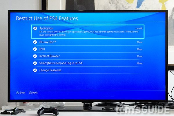 How to Set Parental Controls on PS4 and PS4 Pro   Tom's Guide