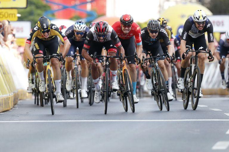 Fernando Gaviria wins stage three of the Tour of Poland 2021