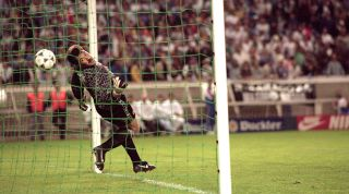 David Seaman Nayim Arsenal