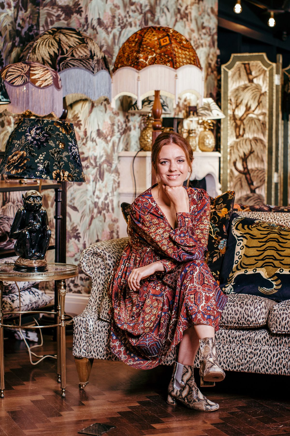 House of Hackney show how to do pattern and print