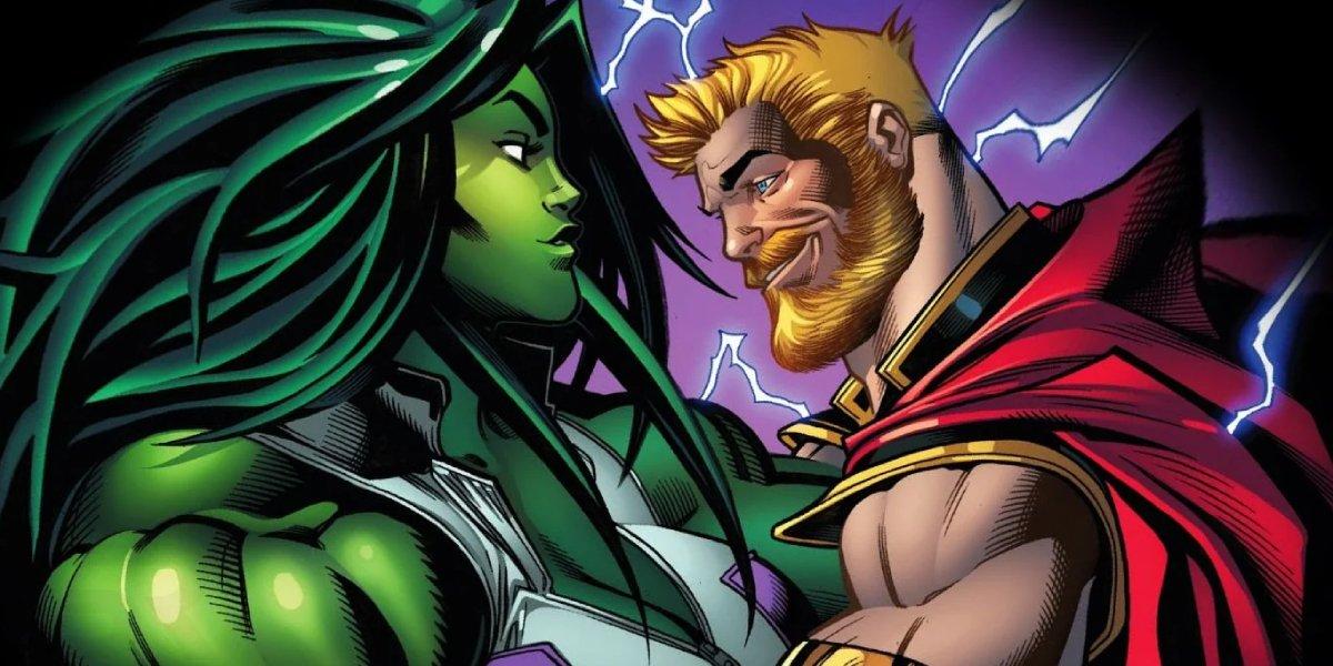 She-Hulk and Thor