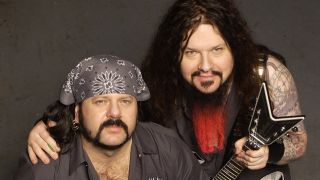 Vinnie Paul and Dimebag Darrell Abbott