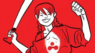 Poison Ivy co-stars in two upcoming chapters of Harley Quinn: Black + White + Red