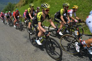 Simon Yates and Adam Yates on the 2019 Tour de France.