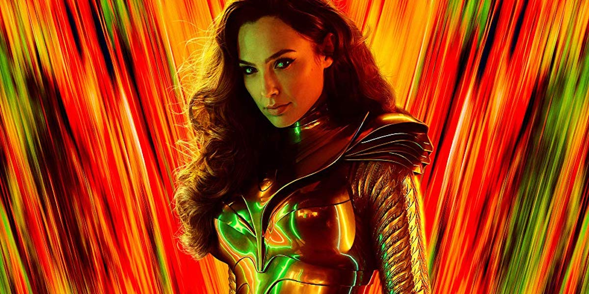 Gal Gadot on Wonder Woman 1984 poster