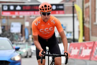 CCC-Liv's Evy Kuijpers at the 2019 Brabantse Pijl