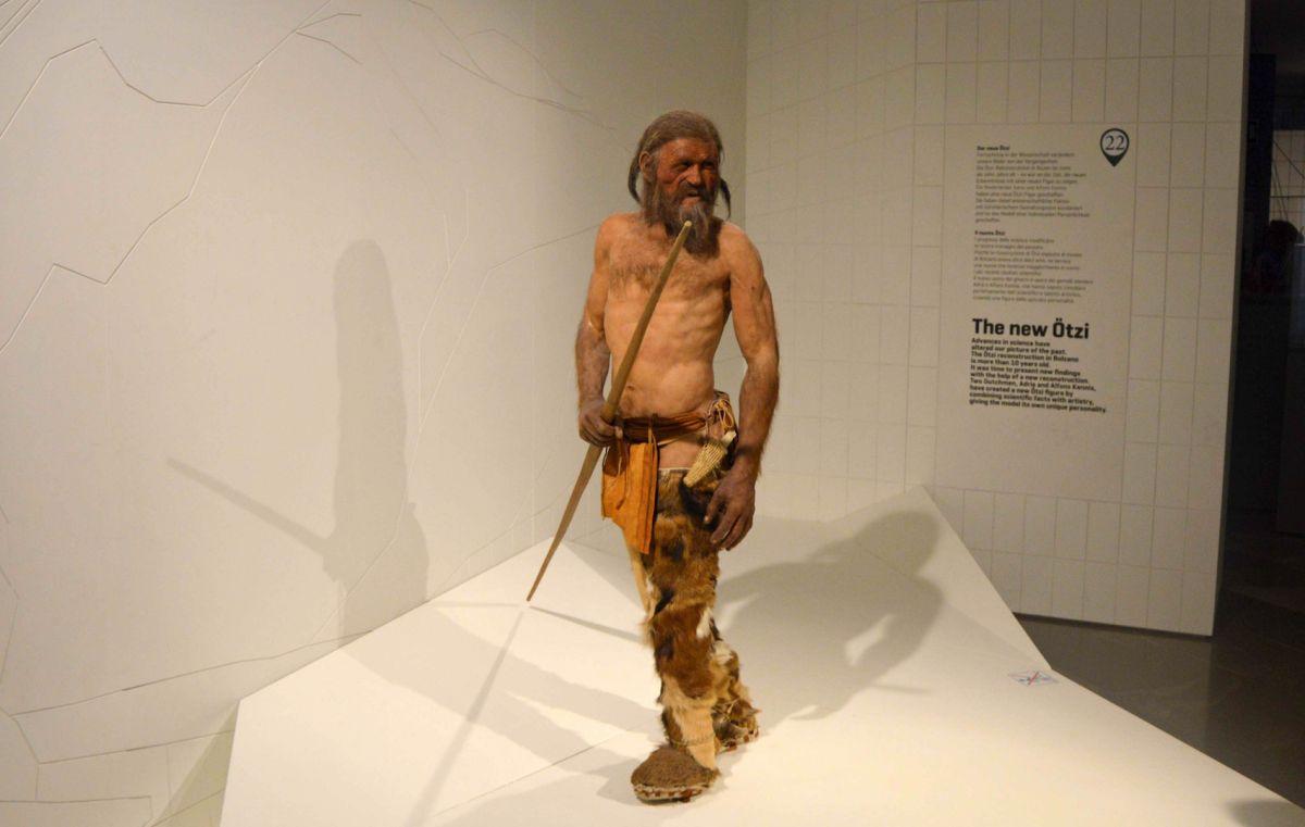 Ötzi the Iceman: The famous frozen mummy