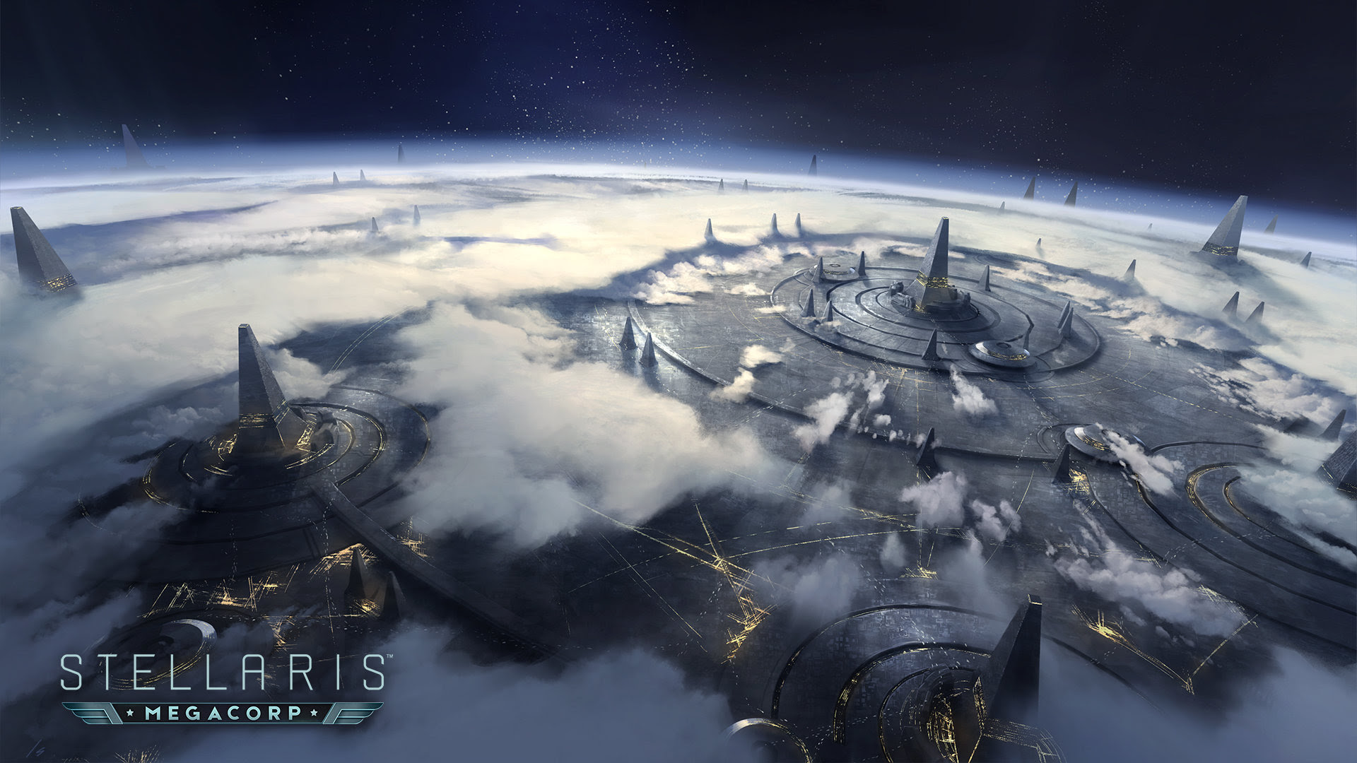 Stellaris reveals 'economy-focused' MegaCorp expansion