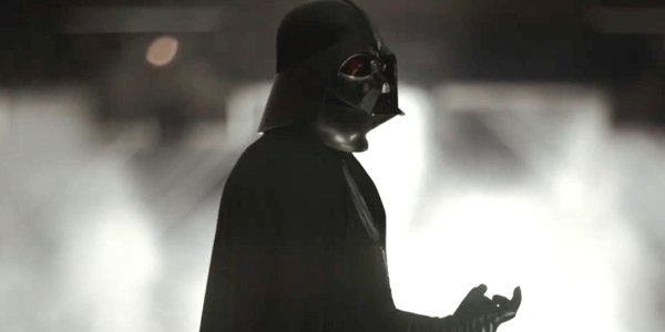 Darth Vader Threatening in Rogue One