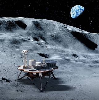 NASA hopes that commercial landers will soon ferry equipment and hardware to the lunar surface.