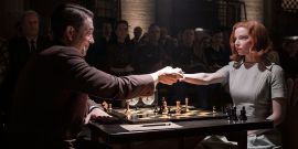 What Netflix's The Queen's Gambit Has In Common With The Early Bond Movies