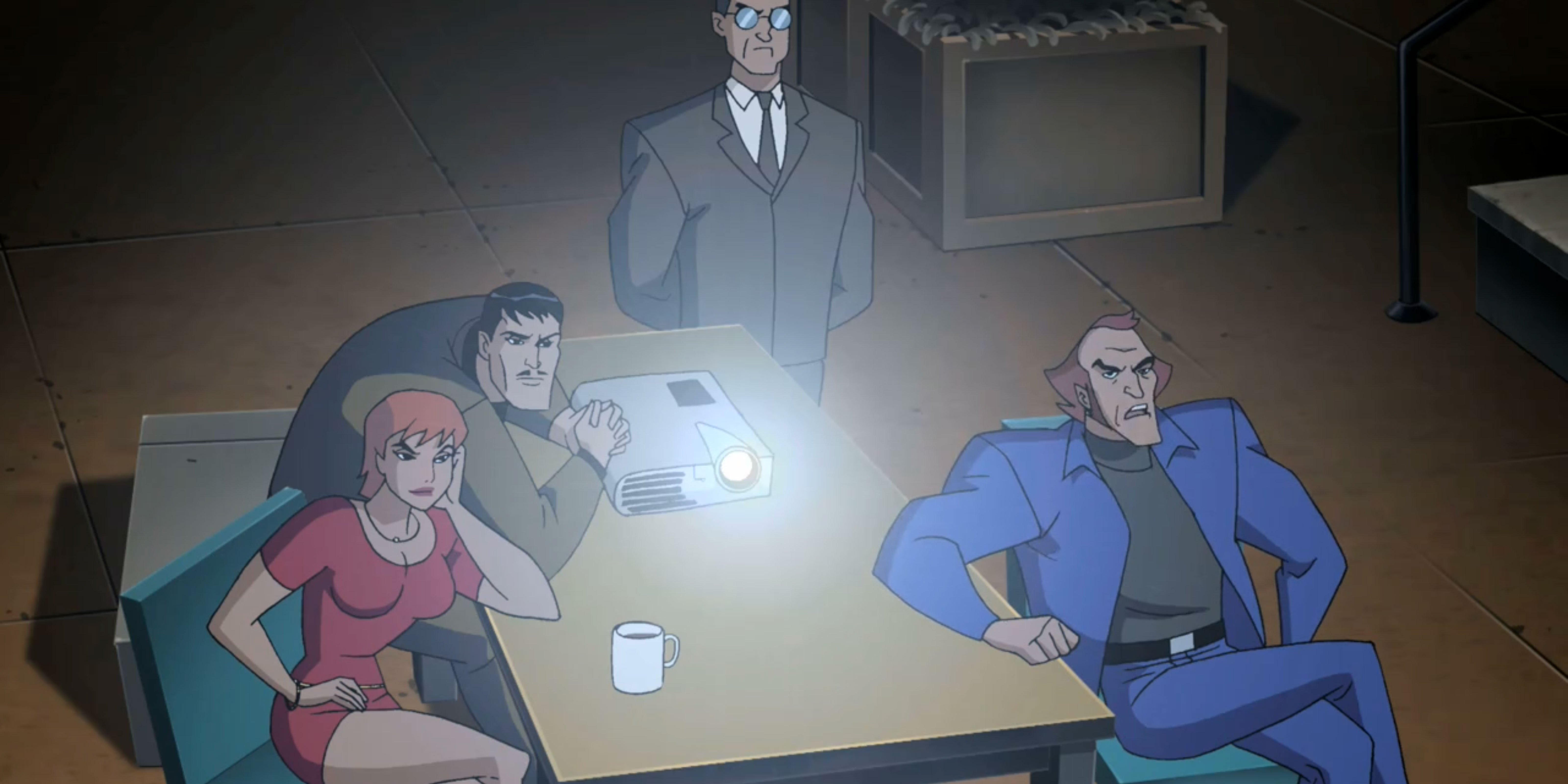 Task Force X plans their heist.