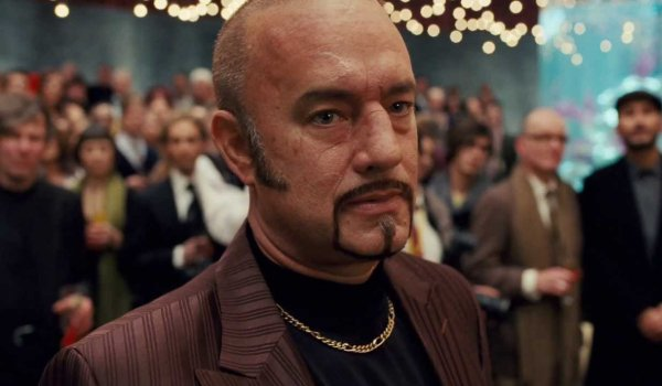 Cloud Atlas Tom Hanks is now a bald cockney gangster at a party