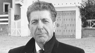 A portrait of Leonard Cohen