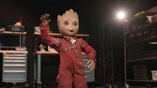 Walt Disney Imagineering's project Kiwi as Baby Groot