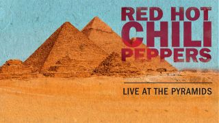 Red Hot Chili Peppers Live flyer