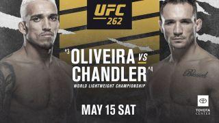 Oliveira vs Chandler live stream