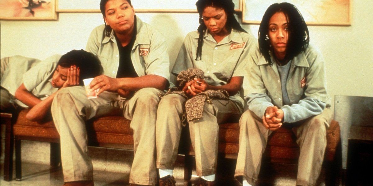 From left to right, Vivica A. Fox, Queen Latifah, Kimberly Elise, and Jada Pinkett Smith